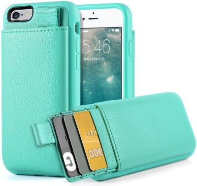 on sale 65089 b83cf Best iPhone 6/6S Wallet Cases with Card Holder on Back