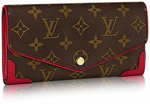 ff051bb3d60 Authentic Louis Vuitton Monogram Canvas Sarah Wallet Retiro. View on Amazon