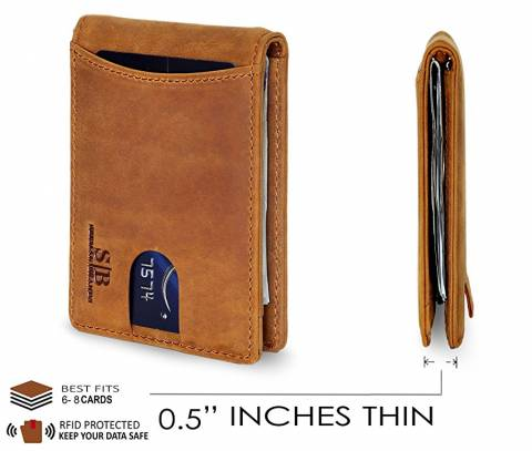 15+ Best Slim Leather Wallet for Men