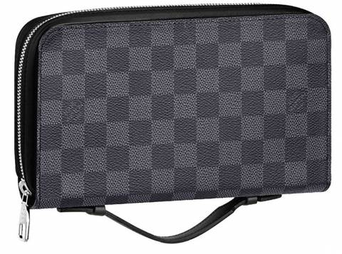 37d42af8ed6e Louis Vuitton Damier Canvas Portafoglio Zippy XL Wallet N41503 crafted in  France