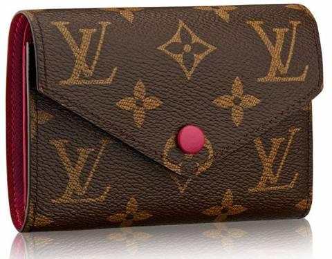 387323ae4624 Louis Vuitton Monogram Canvas Victorine Wallet