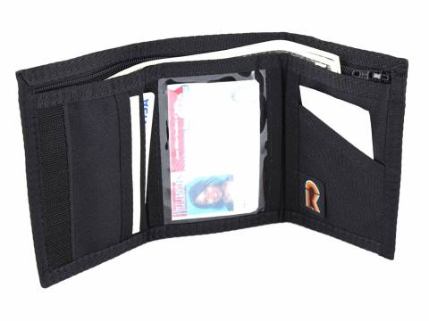 9dc7ccae835c Men s Trifold Nylon Wallet with Inside ID