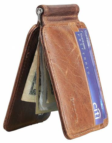1d5d46c9054d3 10. Easyoulife RFID Slim Mens Money Clip Wallet Combo